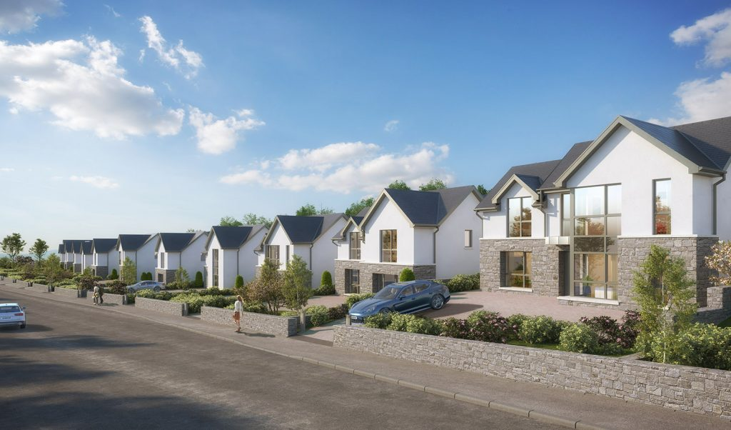 New homes in Barna, Co. Galway