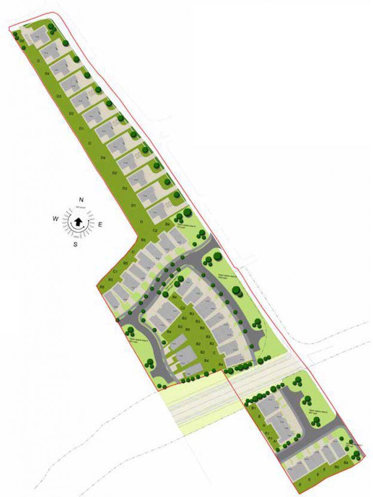 site map at an maolan
