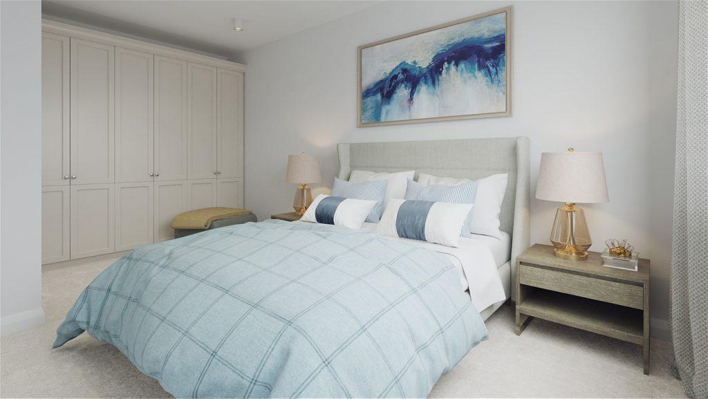 An Maolan Barna bedroom