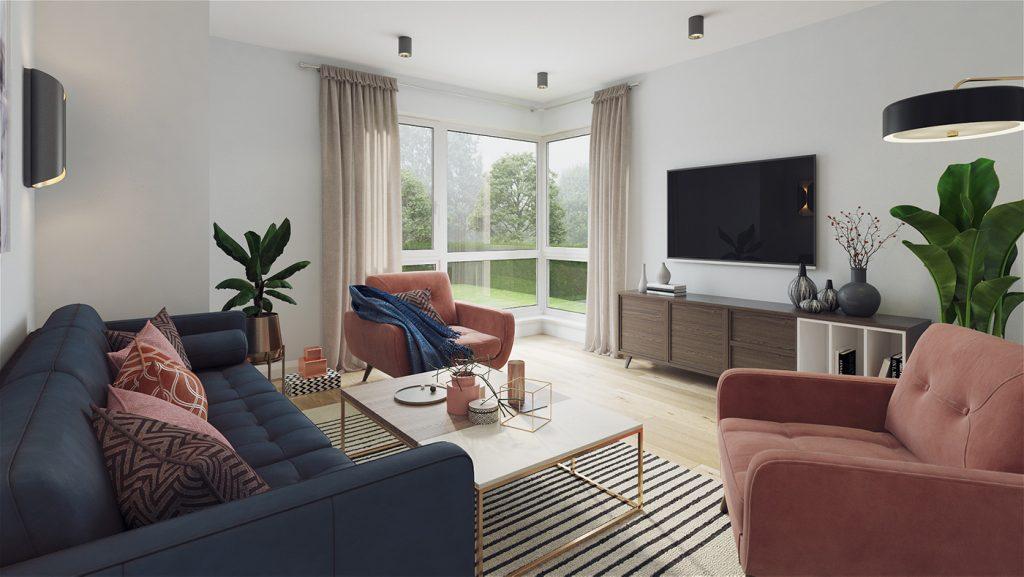 An Maolan Barna living room