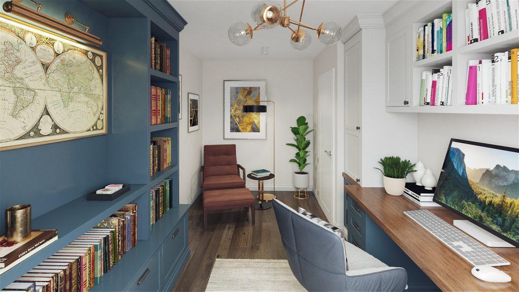An Maolan Barna office / 4th bedroom